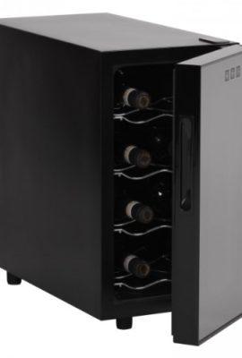 AMSTYLE-Design-Weinkhlschrank-23-Liter-8C-18C-8-Flaschen-Weinkhler-schwarz-Energieklasse-A-0