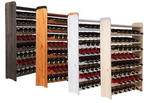 Impag® Weinschrank für 56 Flaschen Kirsch ~ wein-fein-gut.de