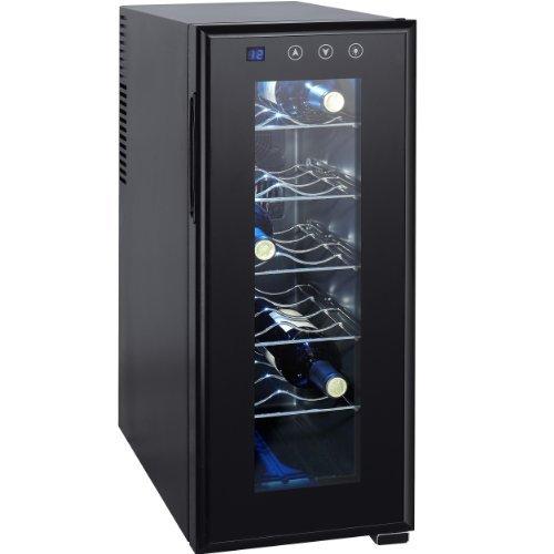 syntrox germany 12 flaschen digitaler getr nkek hlschrank weink hlschrank wein fein. Black Bedroom Furniture Sets. Home Design Ideas