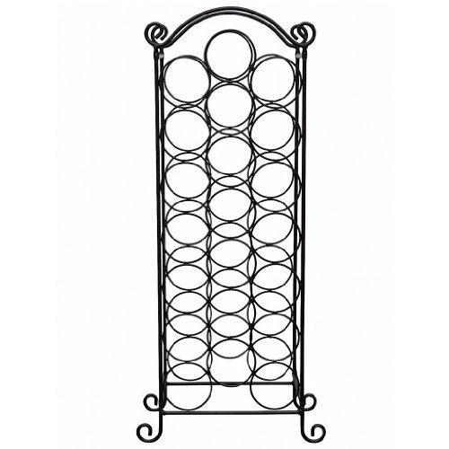 weinregal flaschenregal flaschenst nder 21 flaschen metall regal weinschrank wein fein. Black Bedroom Furniture Sets. Home Design Ideas