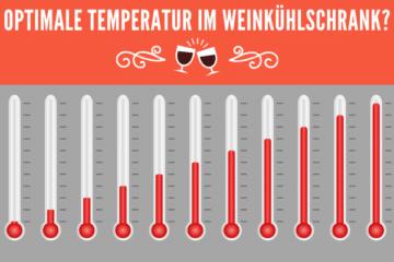 Ideale Temperatur im Weinkühlschrank