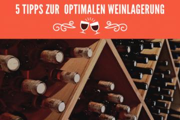 optimalen Weinlagerung