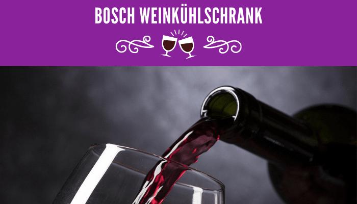 Bosch Weinkühlschrank
