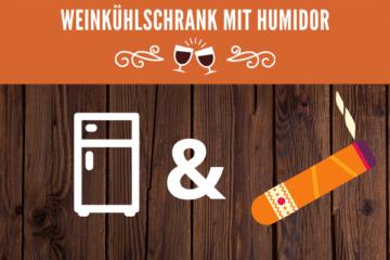 Weinkühlschrank mit Humidor