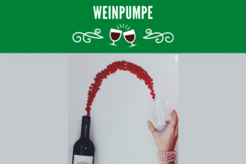 Weinpumpe