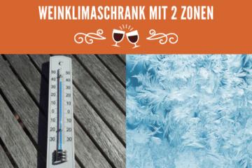 2 Zonen Weinklimaschrank